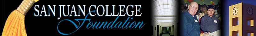 San Juan College Foundation Header